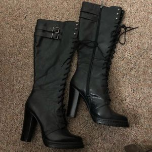 Bcbgeneration Knee-high leather boots